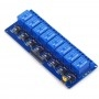Module 8 relays with optical separation 3.3V, AMPUL.EU