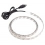 LED strip 3528, 5V with USB, warm white, 0.5 meter, AMPUL.EU