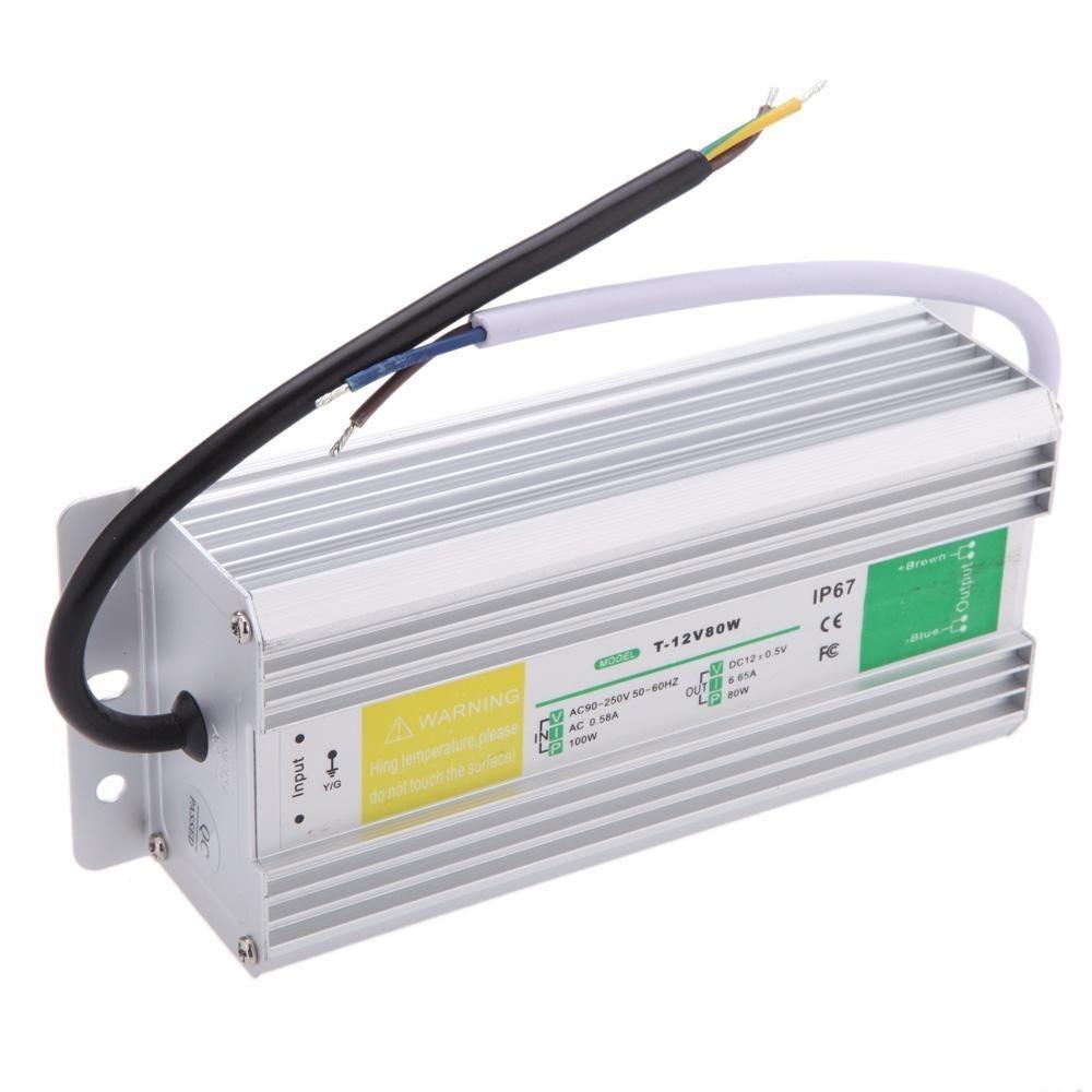Napájecí zdroj vodotěsný 12V, 6.65A - 80W