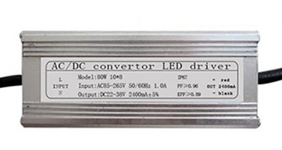 Napájecí zdroj pro 80W LED, 22-38V, 2400mA, IP65