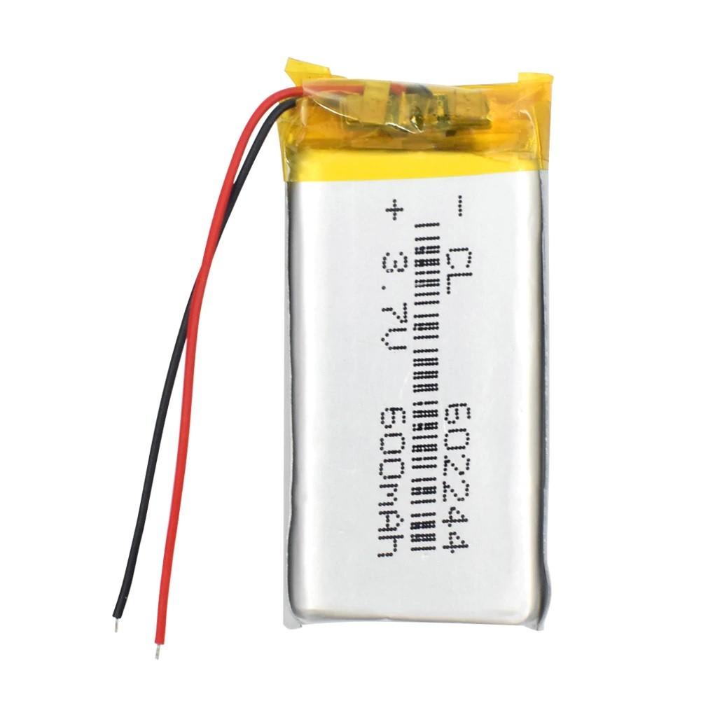 Li-Pol baterie 600mAh, 3.7V, 602244