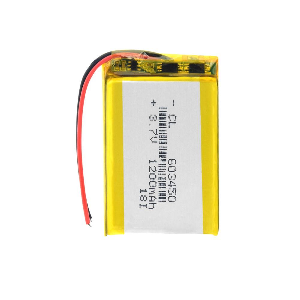 Li-Pol baterie 1200mAh, 3.7V, 603450
