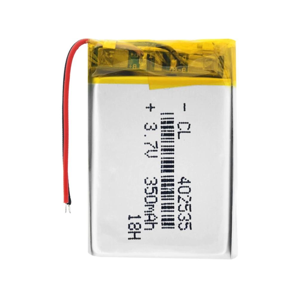 Li-Pol baterie 350mAh, 3.7V, 402535