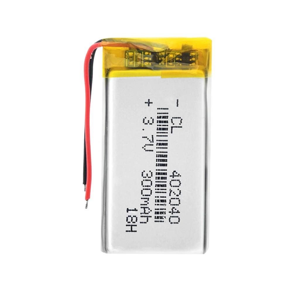 Li-Pol baterie 300mAh, 3.7V, 402040