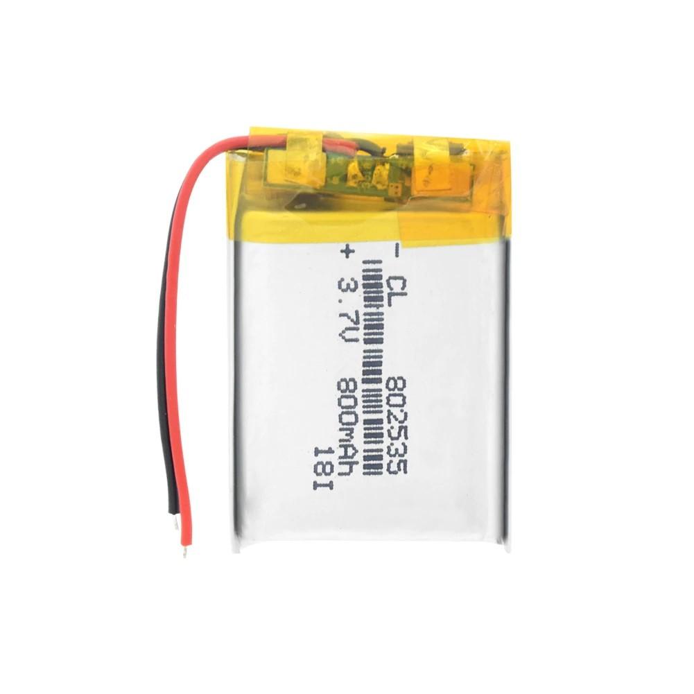 Li-Pol baterie 800mAh, 3.7V, 802535
